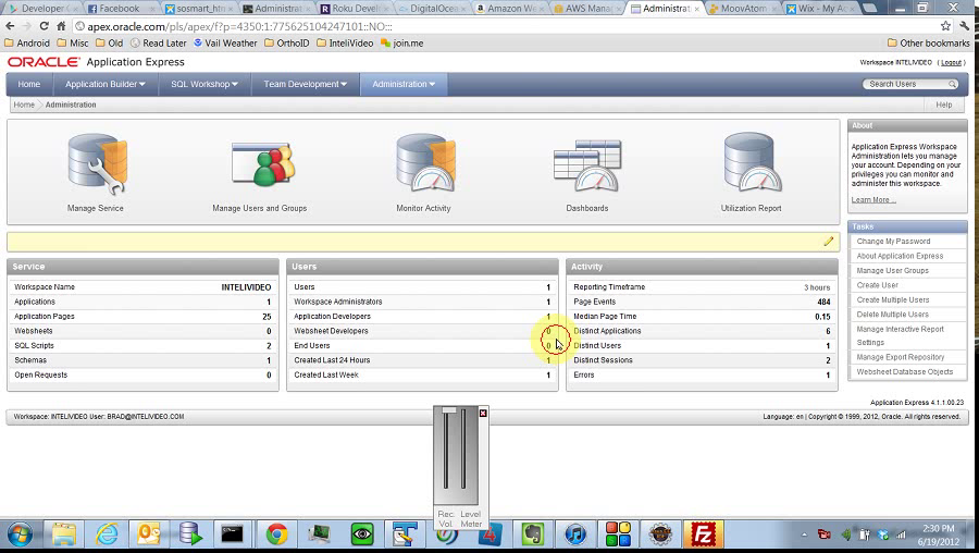 ApEx - Administration - General Overview by BDB Software