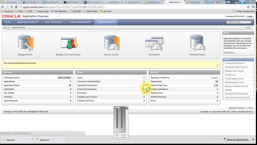 ApEx - Administration - Utilization by BDB Software